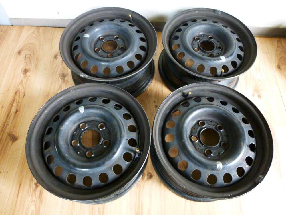 4 Stahlfelgen  6,5Jx15H2 ET49  Mercedes Benz W124 1244001002  5 Loch