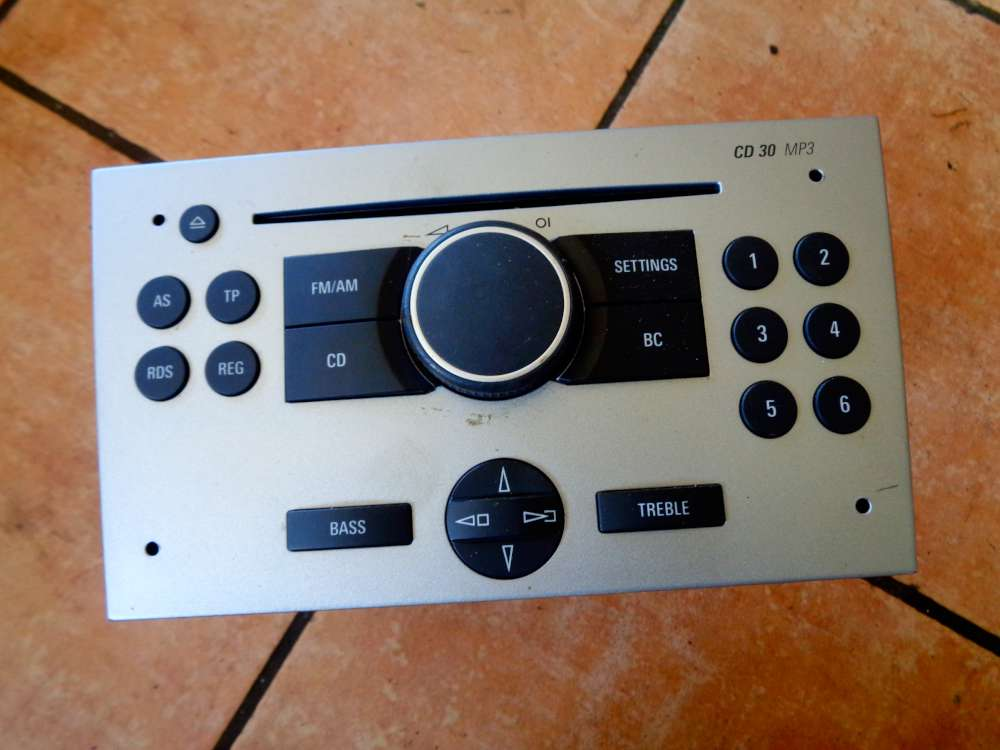 Opel Corsa C Blaupunkt Radio mit CD MP3 13188892