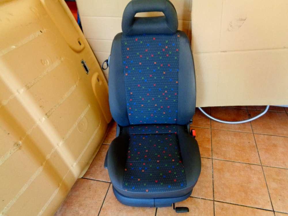 Seat Arosa 6H Bj:2000 3 Türer Beifahrersitz Sitze Vorne Rechts Stoff