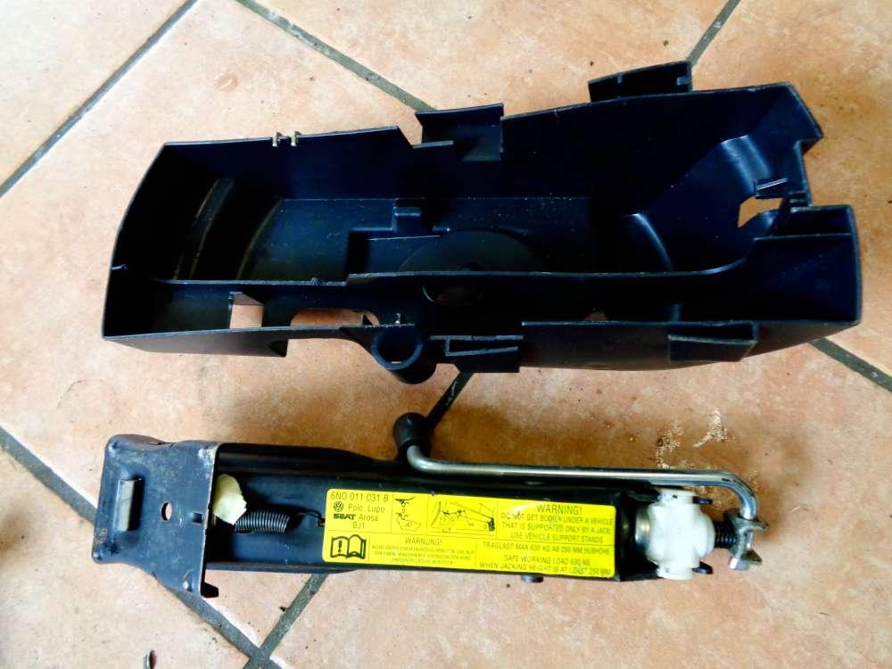 Seat Arosa 6H Bj:2000 Bordwerkzeug Wagenheber Box 6N0011031B