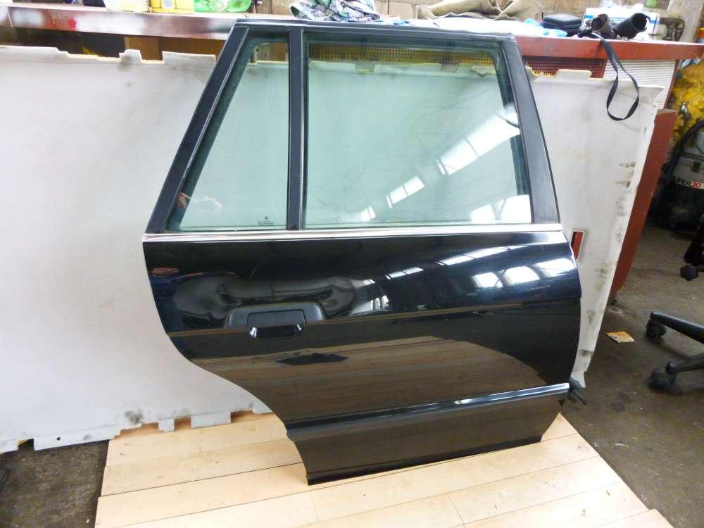 BMW 5er E39 Kombi Tür hinten rechts Farbe: Schwarz
