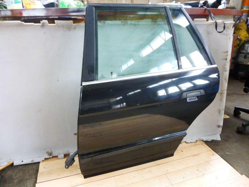 BMW 5er E39 Kombi Tür hinten Links Farbe: Schwarz