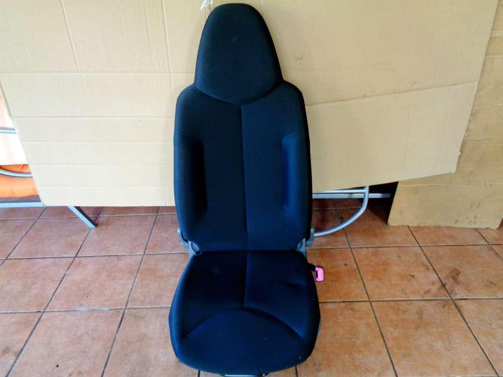 Toyota Aygo Bj:2009 3 Türer Beifahrersitz Sitz Vorne Rechts Stoff Schwarz