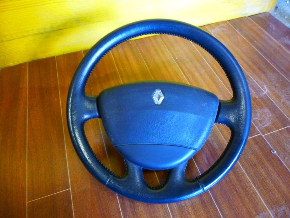 Renault Espace IV Lenkrad Lederlenkrad Ohne Airbag