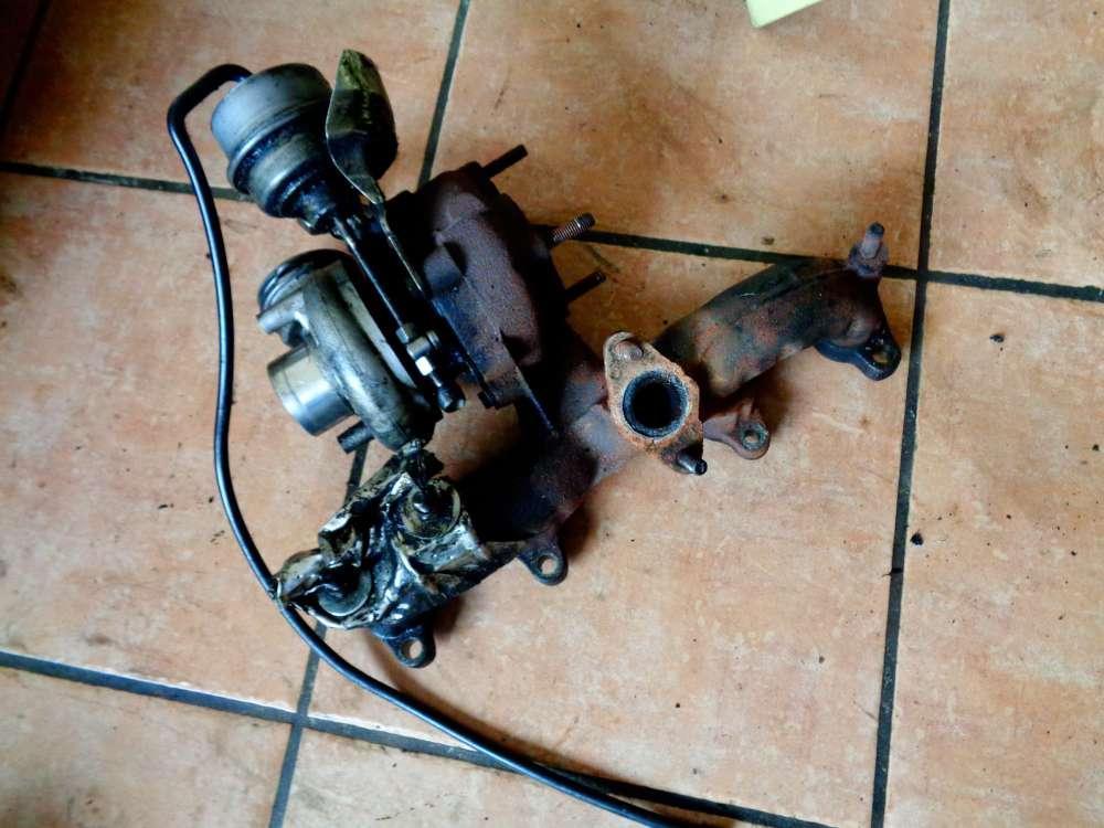 VW Golf 4 Turbolader mit Abgaskrümmer 54399880018