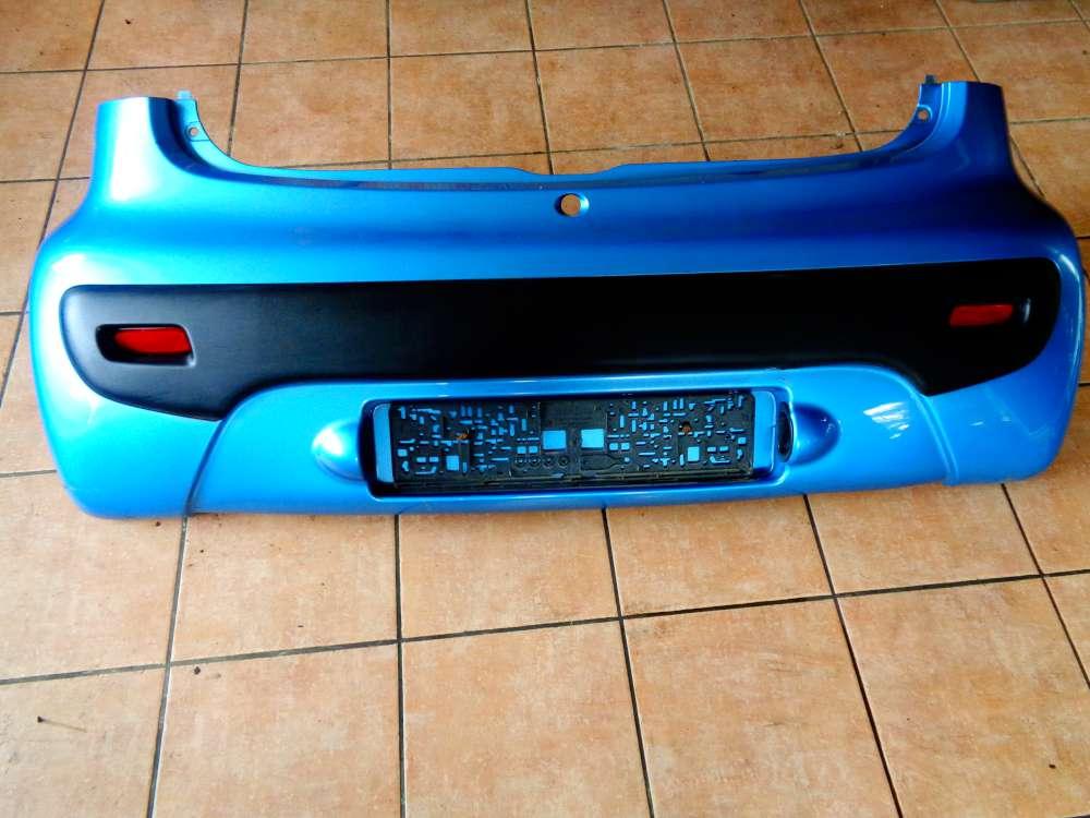 Peugeot 107 Stoßstange Hinten 521590H050 Blau