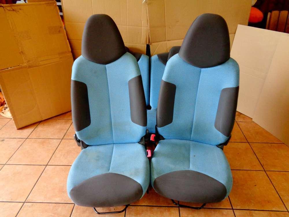 Peugeot 107 Bj:2008 5 Türer Sitzgarnitur Sitze Fahrersitz Beifahrersitz Rücksitzbank