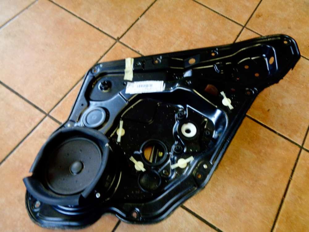 Seat Leon 1M Bj 2001 Fensterheber Blech Gestänge Türblech Hinten Rechts 1M0839755