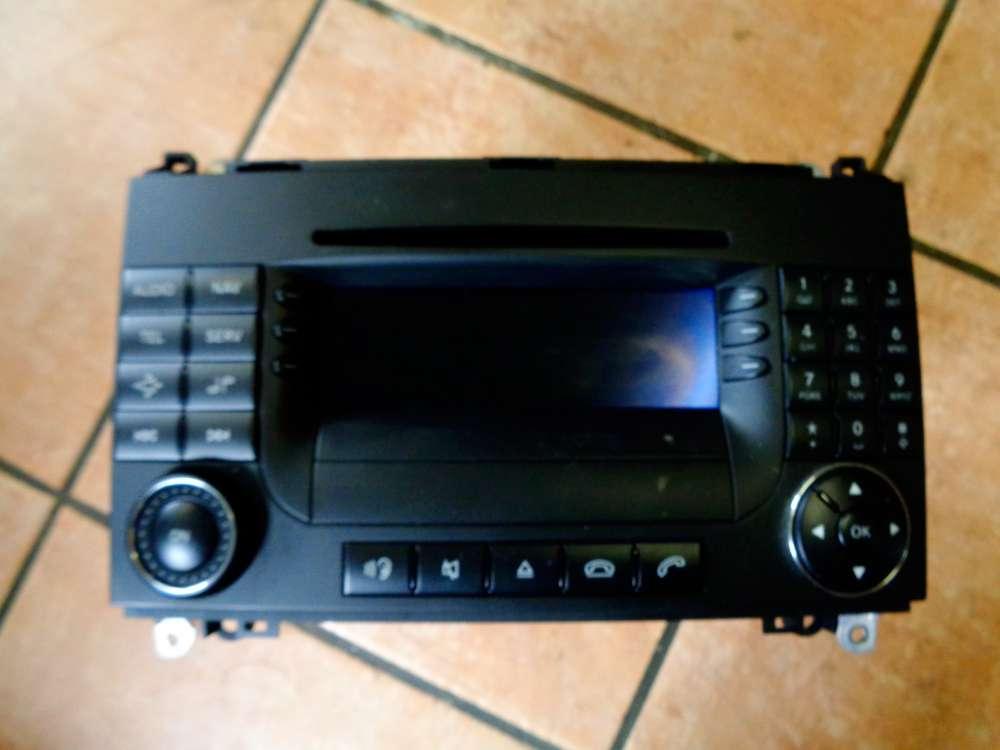 Mercedes W169 A-Klasse A180 CDI Bj:2005 Navigation Radio A1698205089 Becker A2038270062002