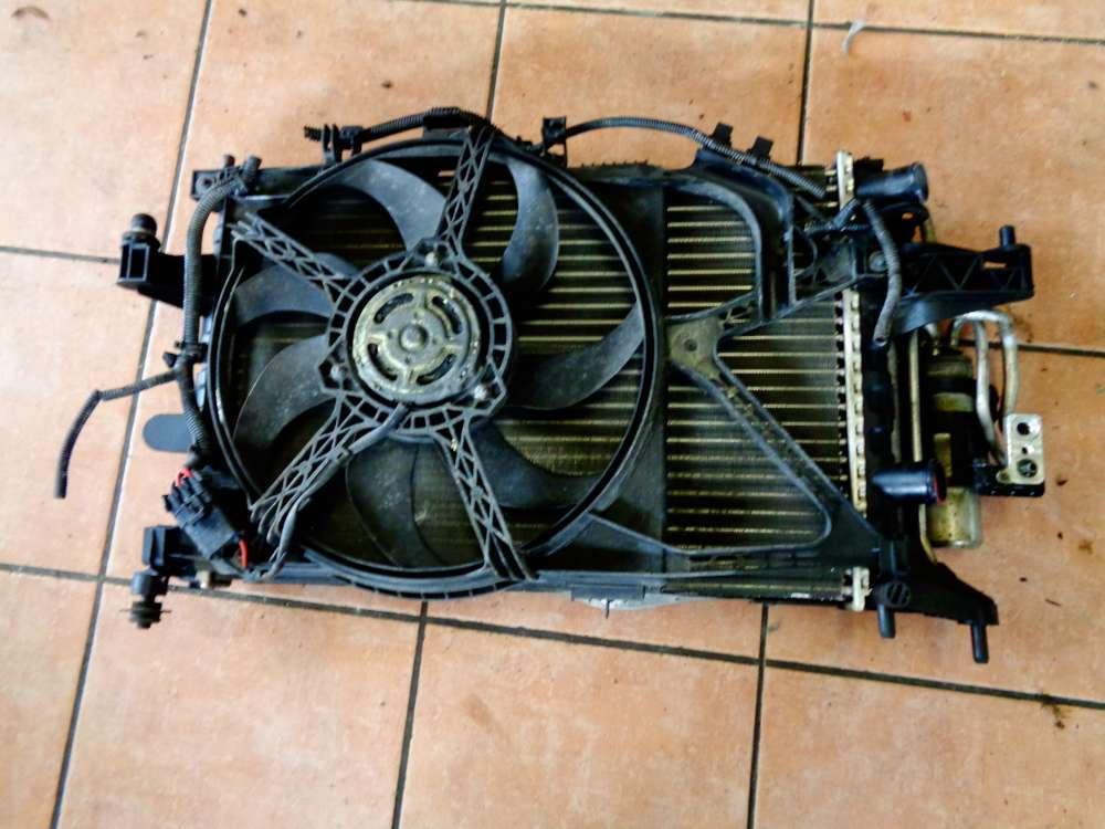 Opel Corsa C 1,2 Kühlerpaket Wasserkühler Klimakühler Lüfter Kühler 13204570