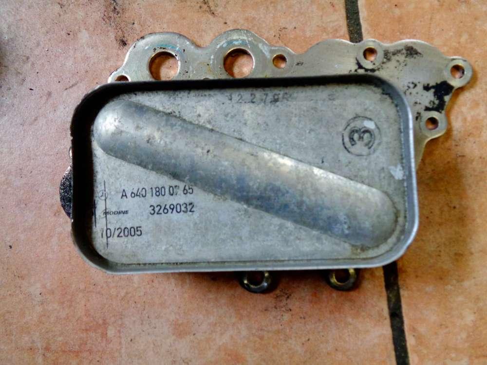 Mercedes W169 A-Klasse A180 Bj:05 Ölkühler-Motor A6401800765