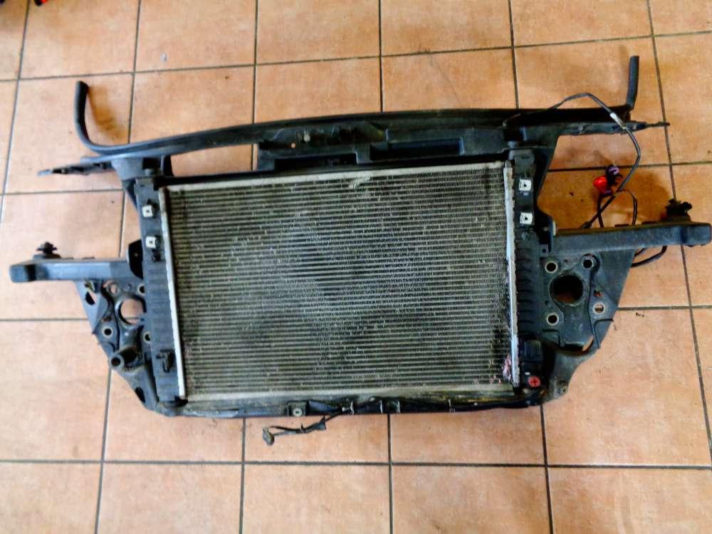 Audi A6 4B Bj:1998 Wasserkühler Lüfter Klimakühler Frontmaske Schlossträger Komplett