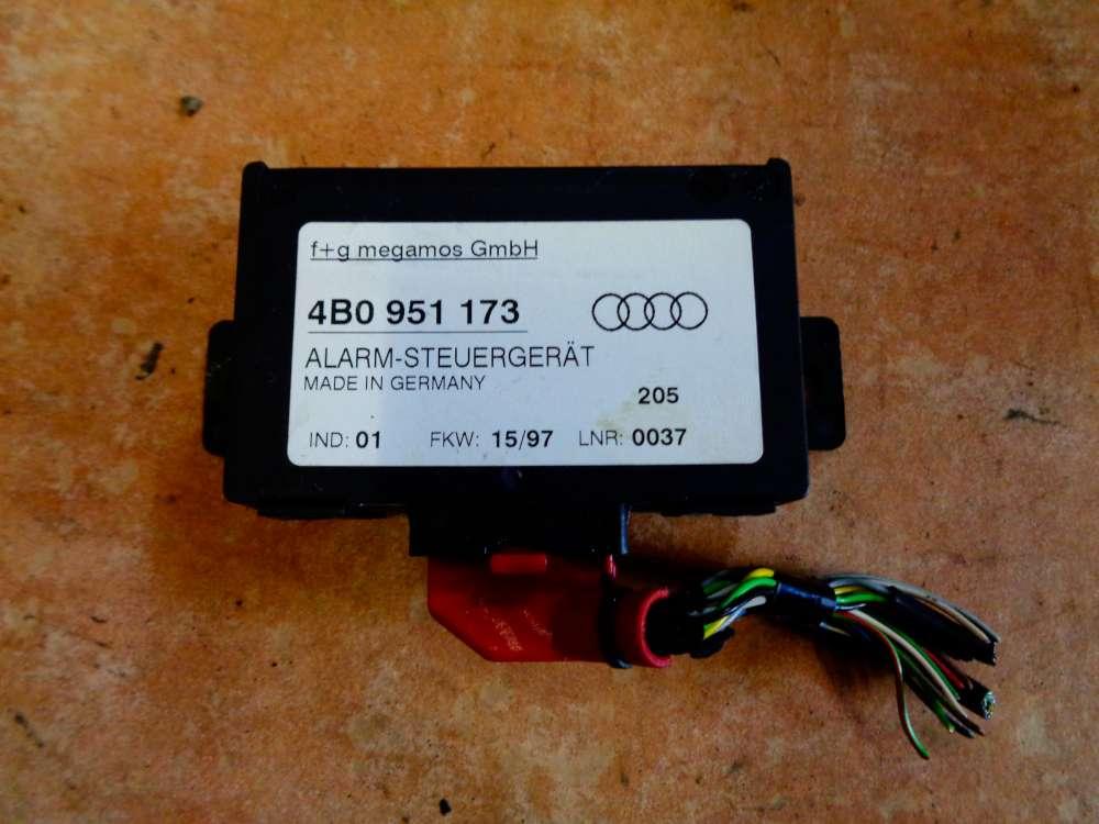 Audi A6 4B Bj:1998 Alarmsteuergerät Steuergerät Alarm 4B0951173