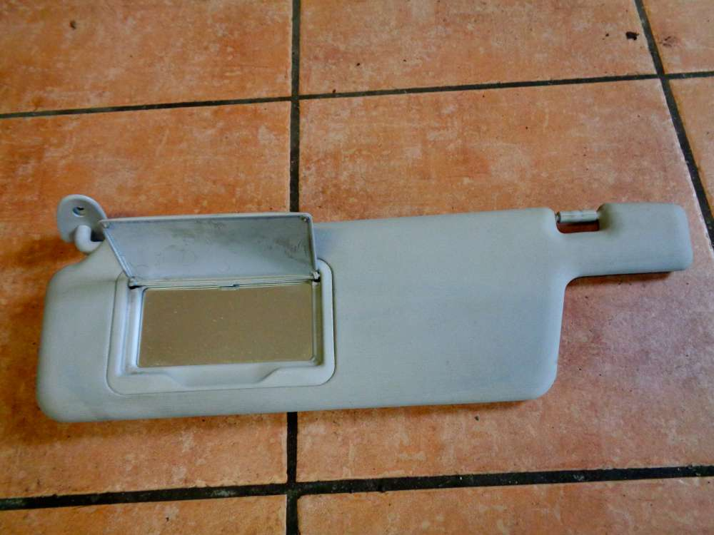 Seat Ibiza 6K Bj:2001 Sonnenblende komplett mit Spiegel Links 6K1857551