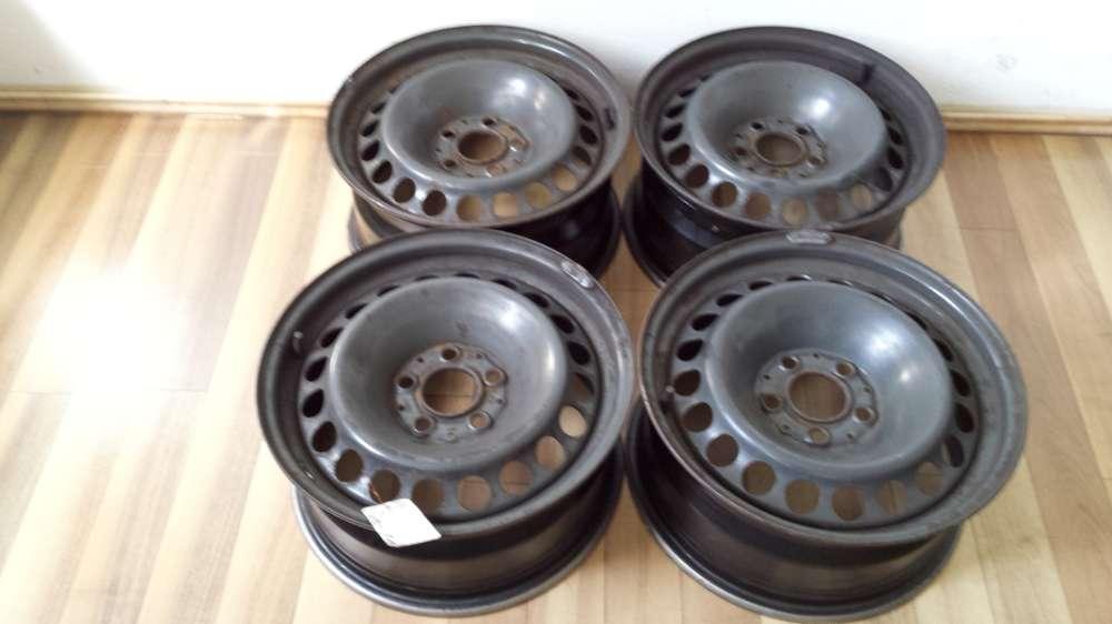 4 x Stahlfelgen Mercedes Benz E-Klasse, W 210  7.5Jx16  E : 41  -  5 Loch