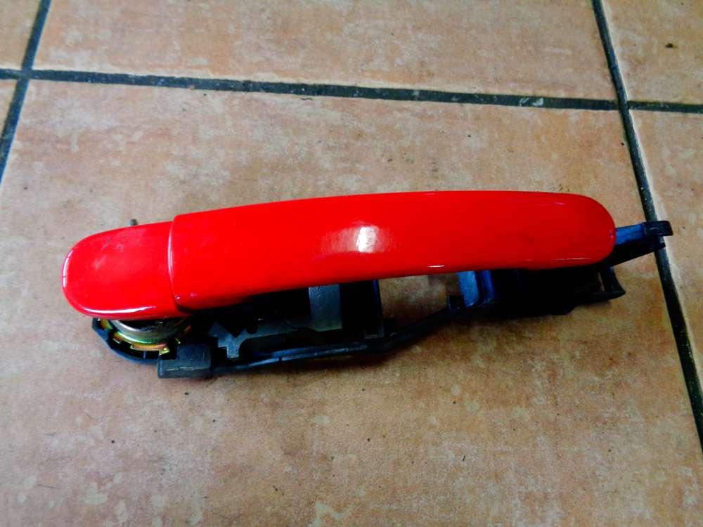 Seat Leon 1M1 Bj 2001 Türaussengriff Außen Vorne Rechts Rot Farbcode : LP3G
