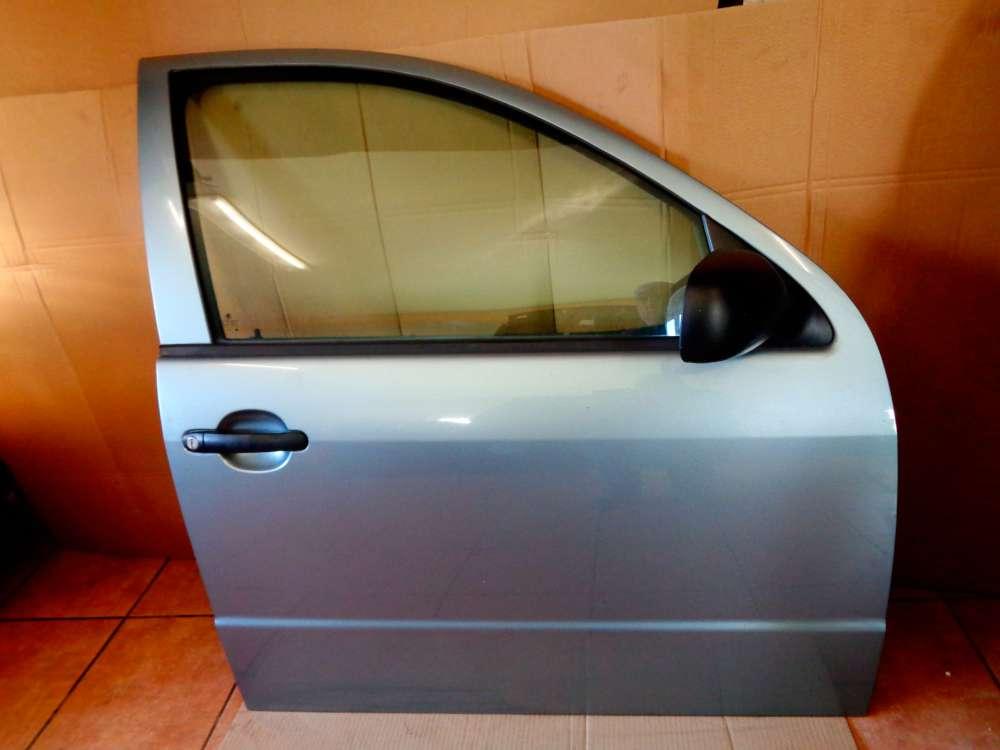 Skoda Fabia 6Y2  Limosine Bj:2002 3-Türer Tür Vorne Rechts Farbe: 9151