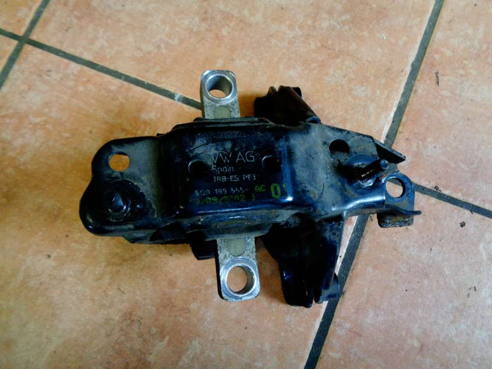 Skoda Fabia 6Y2 Bj:2003 Motorhalter Motorlager 6Q0199555AC