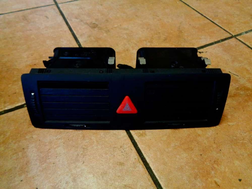 Skoda Fabia 6Y2 Bj:2003 Lüftungsgitter mit Warnblinkschalter 6Y0820951