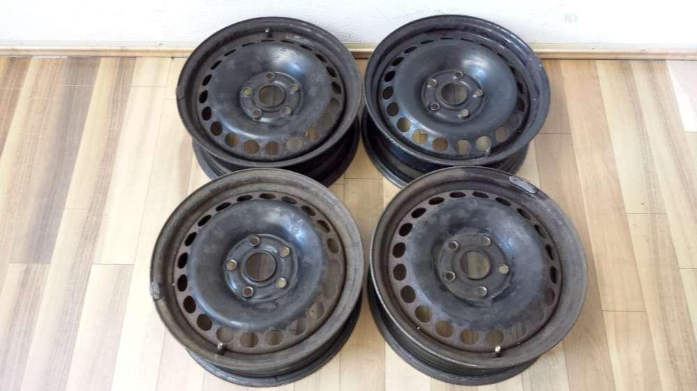 4 x Stahlfelgen Original für  Audi A4  und A6 ,VW Passat  Felgen  6 J x 15 ET:45   5 Loch