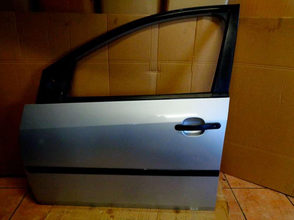 Ford Fiesta Bj 2003, 4Türer Fahrertür Tür Vorne Links Farbe: Silber