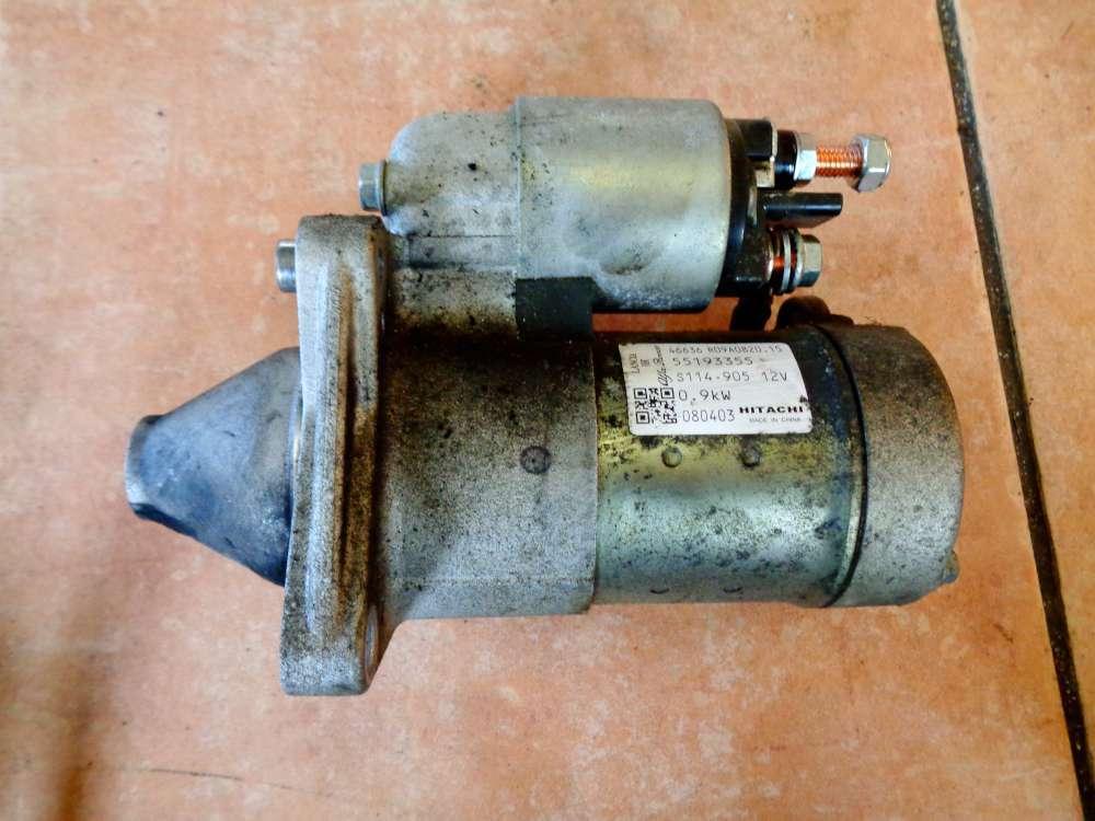 Fiat Punto 199 Bj:2008 1.2L Anlasser Starter 55193355