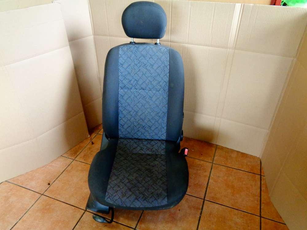 Ford Focus Limousine Türer Bj:2002 Sitze Beifahrersitz Vorne Rechts Stoff Grau