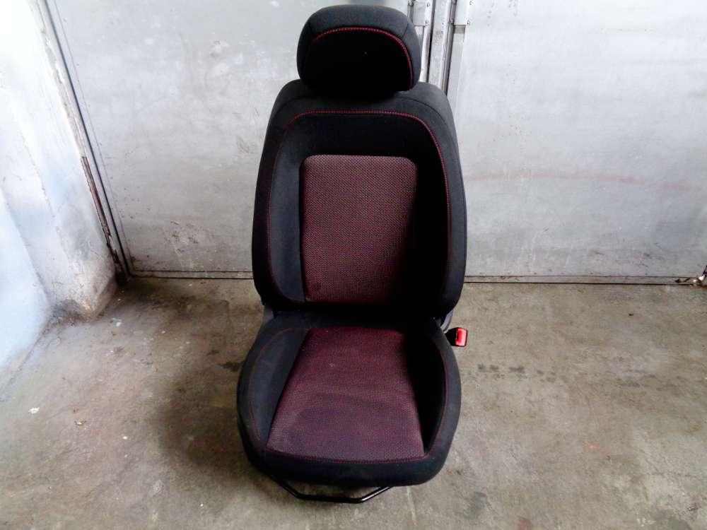 Opel Corsa D Beifahrersitz Sitz Vorne Rechts Stoff