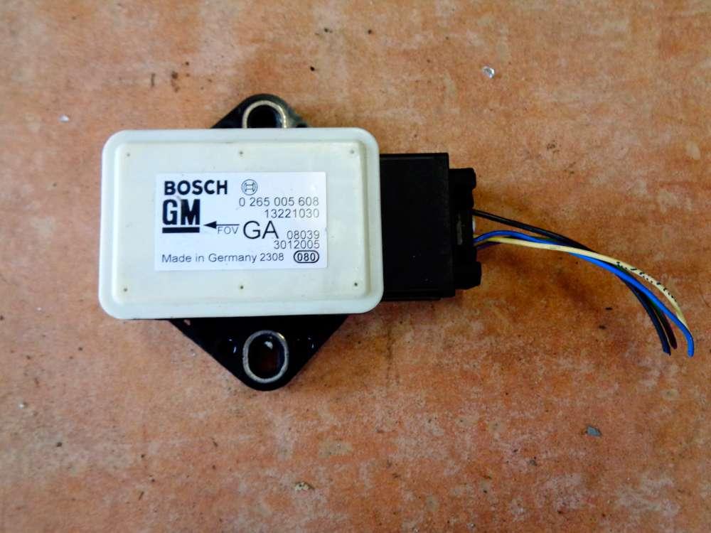 Opel Corsa D Bj:08 Querbeschleunigungssensor 13221030