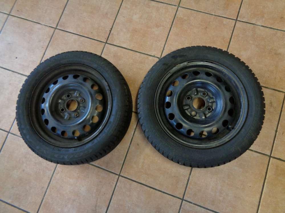 2X Allwetterreifen Toyota Aygo Goodyear Vector 155/65 R14 75T  41/2JX14H2ET39
