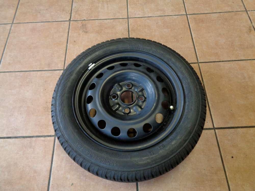 Stahlfelgen mit Reifen Sommerreifen für Toyota Aygo 155/65 R14,75T 41/2JX14H2ET39
