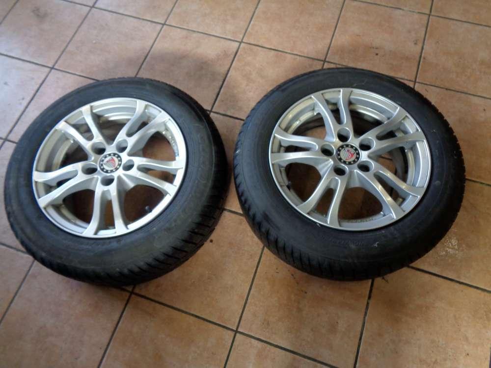 2X Alufelgen Peugeot 107 Goodride KBA 48620 185/65R15 88H 6,5JX15H2 Winterrreifen