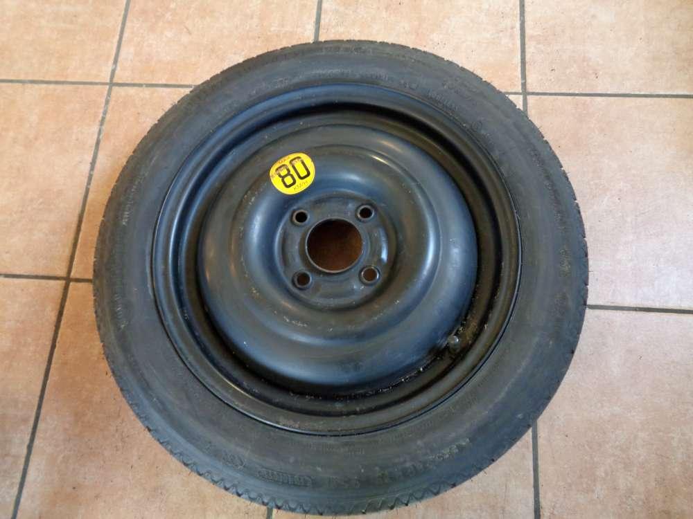 Ersatzrad Notrad Reserverad Rad für Ford 125 / 80 R15 95 M 4JX15X40