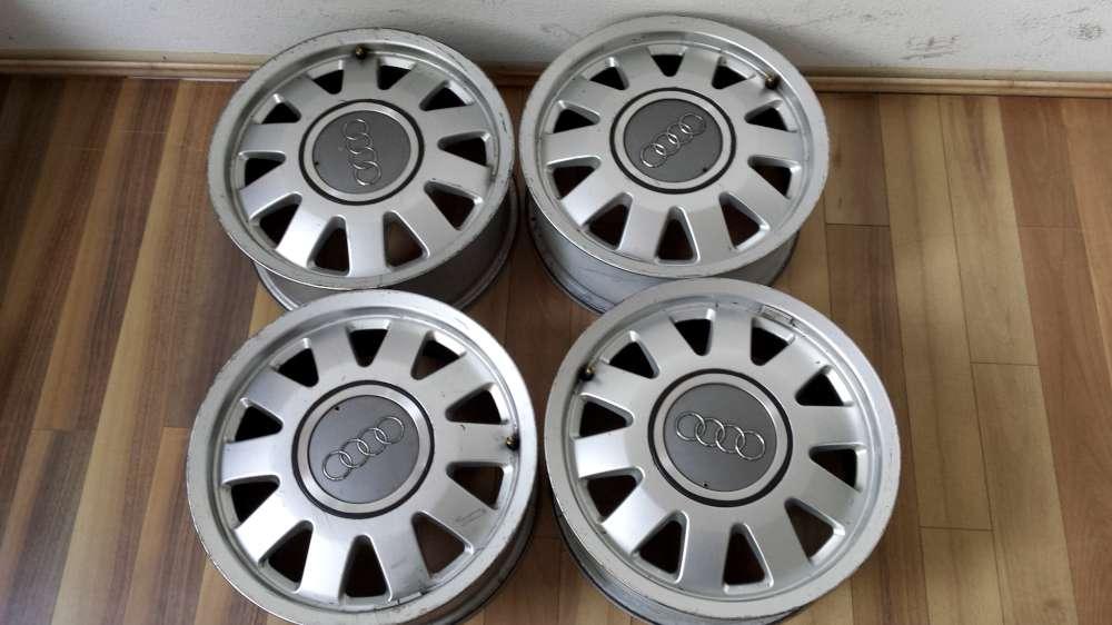 4x Alufelgen für Audi A4   6Jx15H2   ET : 45   5Loch