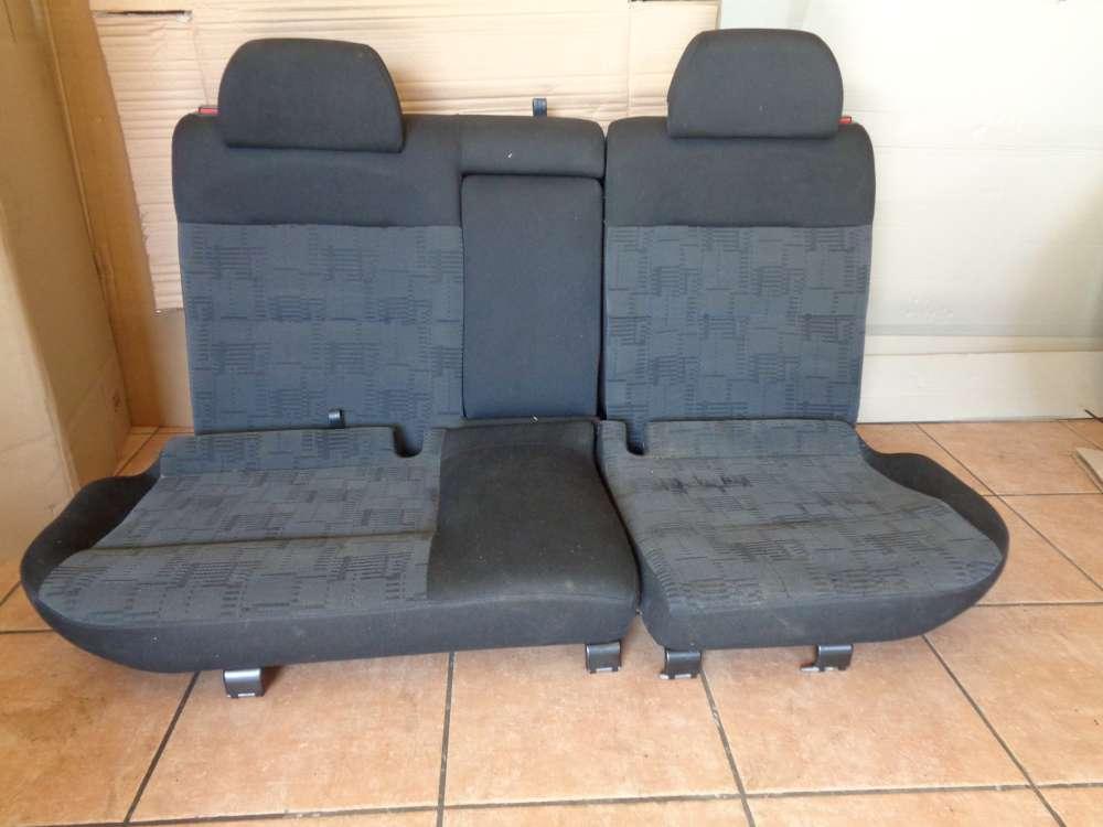 VW Passat 3B Kombi Bj:1997 Rücksitzbank Sitze Stoff Hinten mit Gepäcknetz Rolle