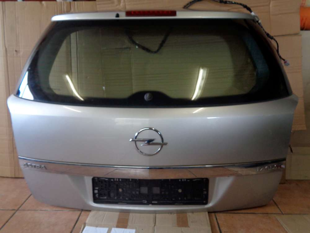 Opel Astra H Kombi Bj:2008 Heckklappe Heckklappe Z157 Starsilber
