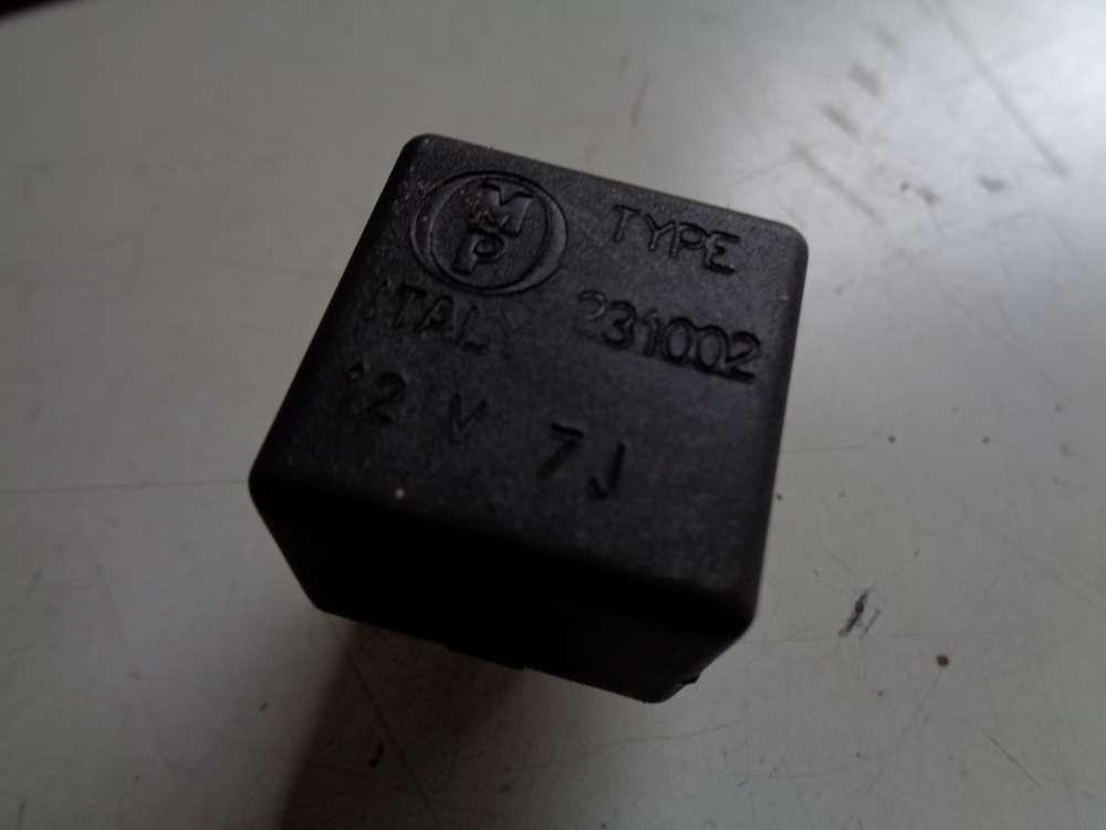 VW Golf 3 Relais TYPE 12V 231002