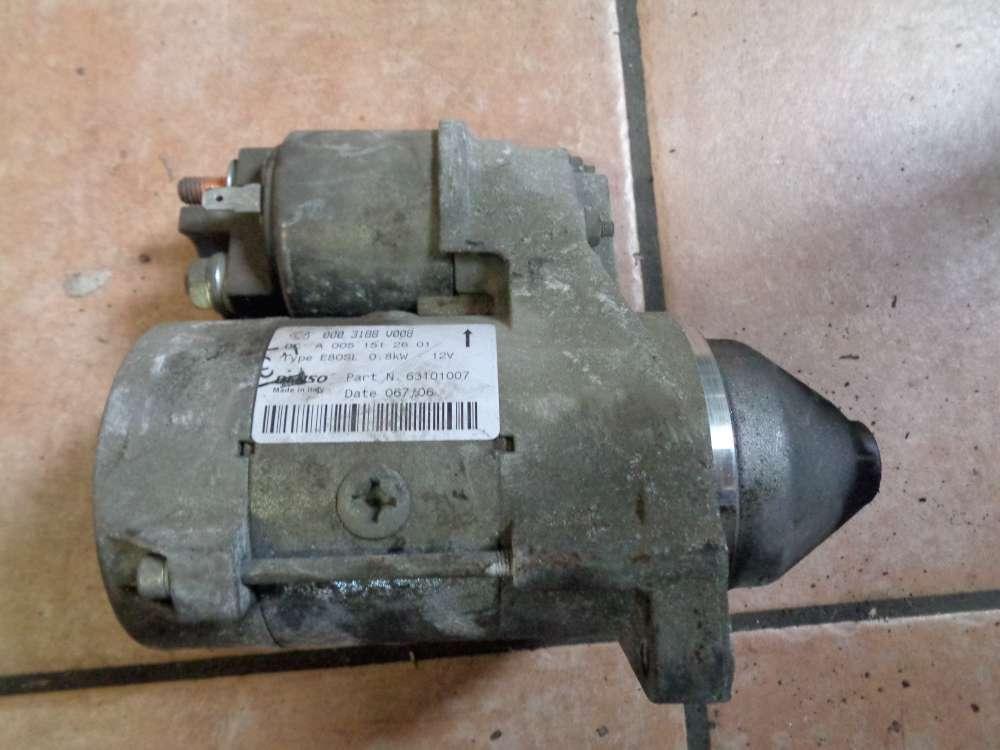 SMART Fortwo MC01 Bj:06 Anlasser Starter 0003188V008