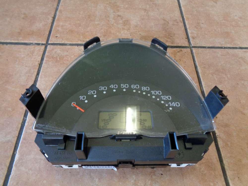 SMART Fortwo MC01 Bj:06 Tacho Kombiinstrument 67300KM 0001184V025