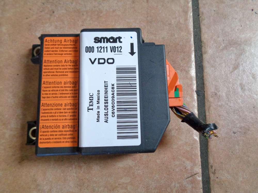 SMART Fortwo MC01 Bj:06 Airbagsteuergerät 0001211V012