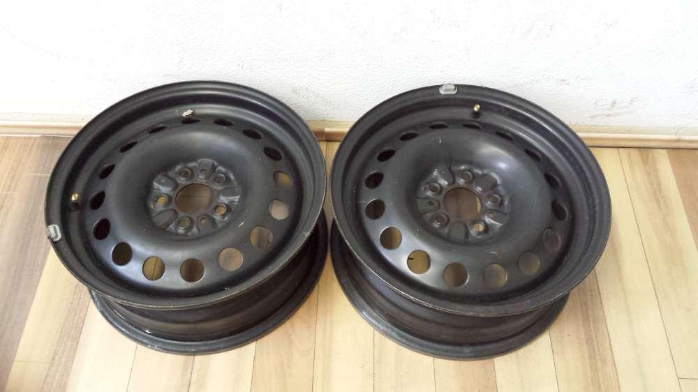 2 x Stahlfelgen  für Alfa Romeo 6Jx15   ET:35 KBA 44551  5 Loch