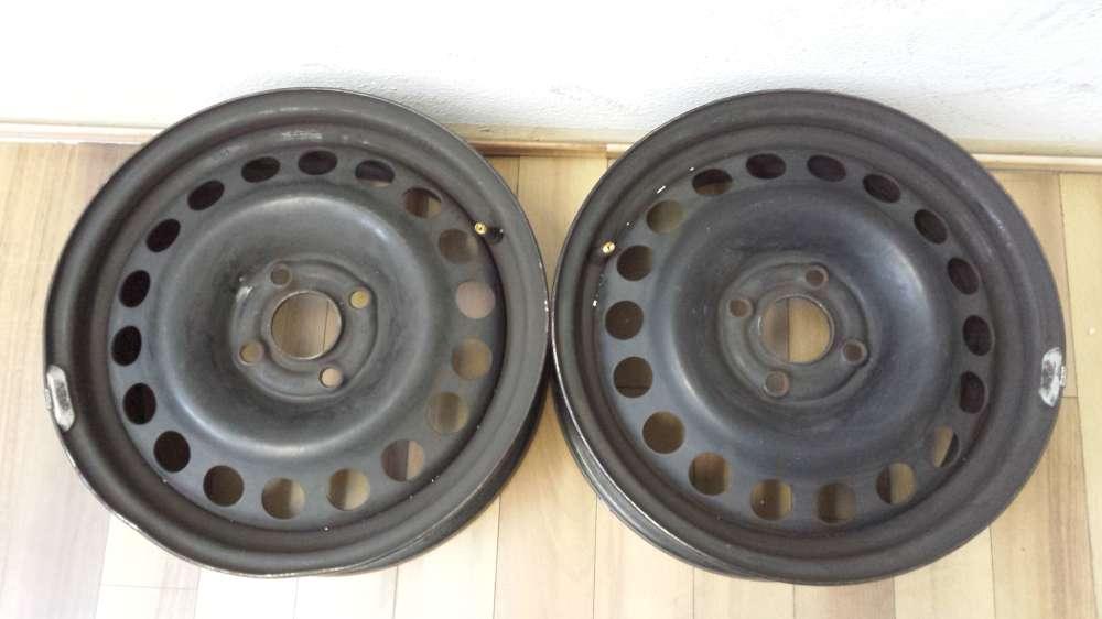 2 x Stahlfelgen Für Opel Vectra und Astra  6Jx15 H2   4x100    ET:49