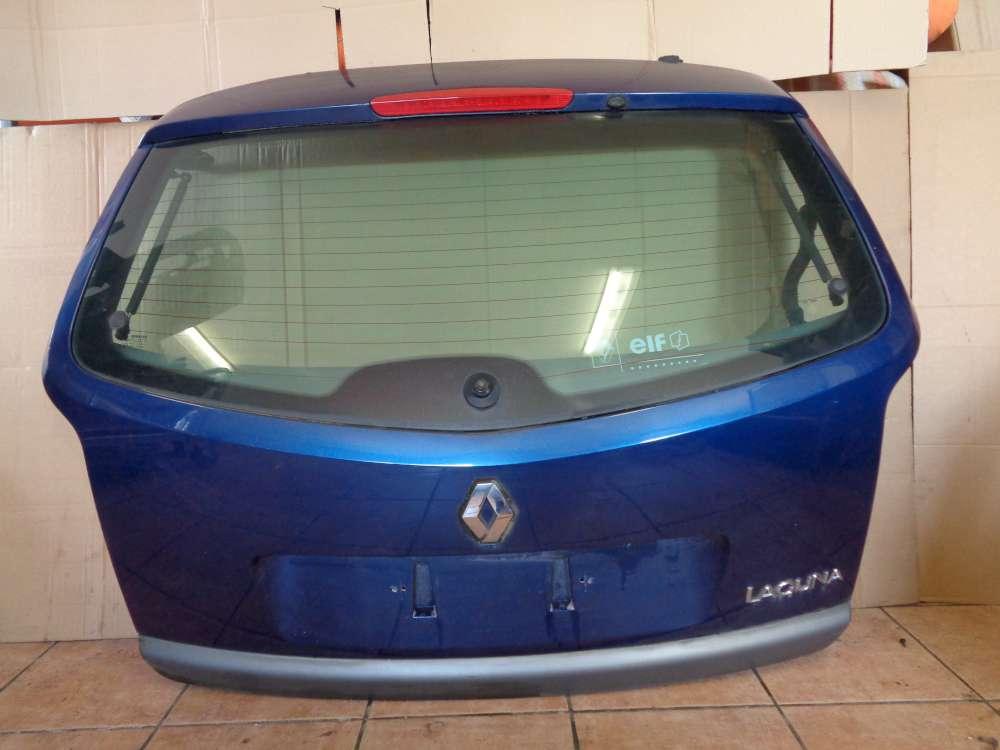 Renault Laguna II Kombi Bj:2003 Heckklappe Kofferraumklappe Blau Farbcode : TED44