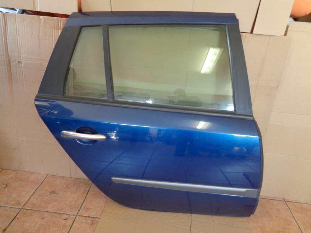 Renault Laguna II Kombi Bj:2003 Tür Hinten Rechts Blau Farbcode : TED44