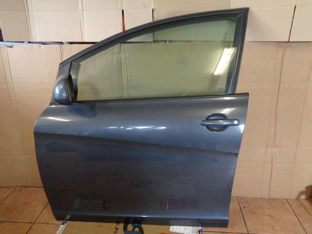 Seat Altea XL 5P Bj:2008 Fahrertür Tür Vorne Links Grau Farbecode: LS7Z