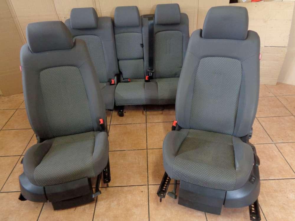 Seat Altea XL 5P Bj:2008 Sitze Innenausstattung Komplett grau Stoff