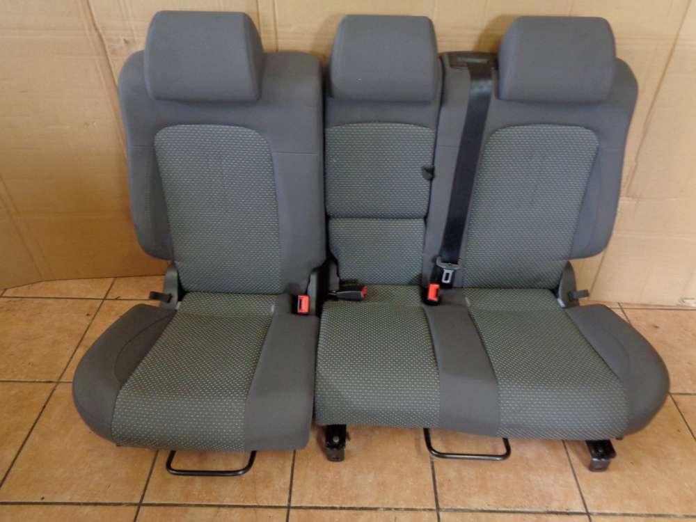 Seat Altea XL 5P Bj:2008 Sitze Rücksitzbank grau Stoff