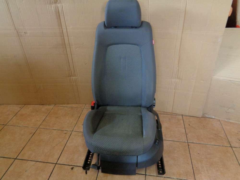 Seat Altea XL 5P Bj:2008 Sitze Fahrersitz mit Sitzheizung Vorne Links grau Stoff
