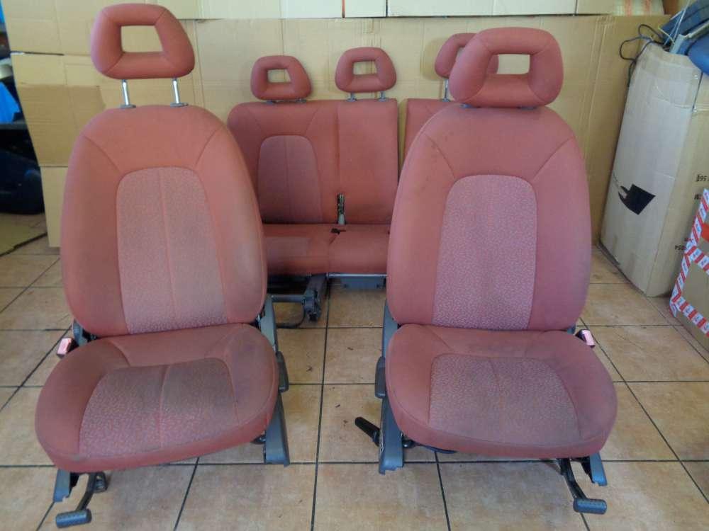 Mercedes A-Klasse W168 Bj:1998 Sitze Innenausstattung Komplett Stoff Rot