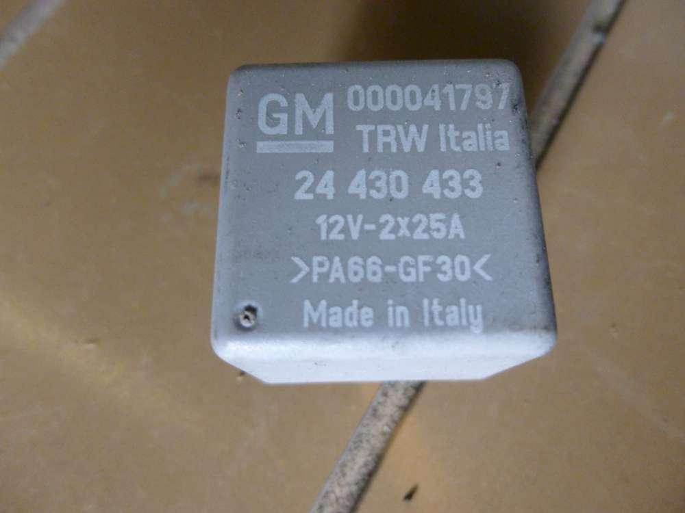 Opel Corsa Relais RELAIS GRAU GM 24 430 433 /  000041797-12V